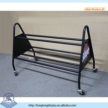 high quality heavy durable metal bowling ball rack