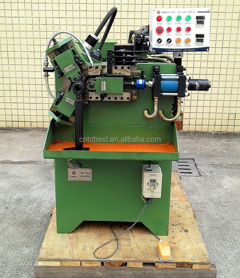 Tobest Factory Scaffolding Thread Making Machine Nipple Pipe Threading Rolling Machine