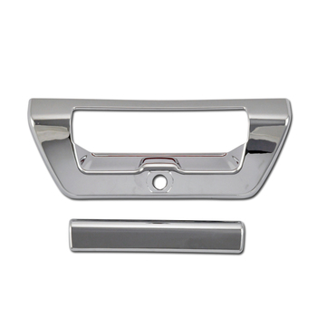 For FORD F-150 F150 15 16 17 18 Tail Gate Handle Trunk Door Handle Cover Chrome Plastic