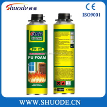 DIY Construction Canned Expanding PU Foam Sealant Adhesive