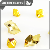 Best sold shinning gold color gem pieces ready for board game
