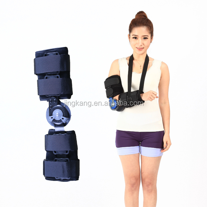 orthopedic Elbow Braces - ROM Hinged Elbow support - angle adjustable arm elbow immobilizing guard