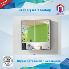 Aolaisi AL-028 Foshan Hot sale Aluminum Framed Bathroom Wall Mirror