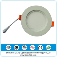 ETL cETL 4'' 9w 6'' 12w mounted Round ceiling LED Panel Light price for Canada USA