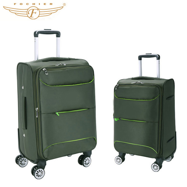 Cheap polo luggage trolley bags