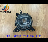 BEST SELLING CAR PARTS ACCESSORIES FOR LANCER EX'08 CAR FOG LAMP ACCESSORIES FOR CAR OEM:8321A107 8321A108