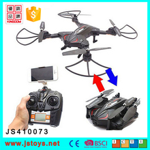 2017 Altitude hold function foldable drone 2.4G long range drone profesional with LED light