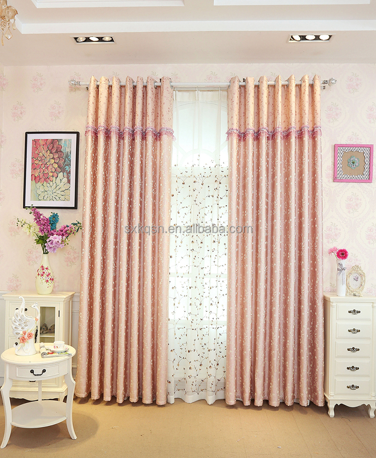 Hangzhou supplier office door decorative clips jacquard curtain