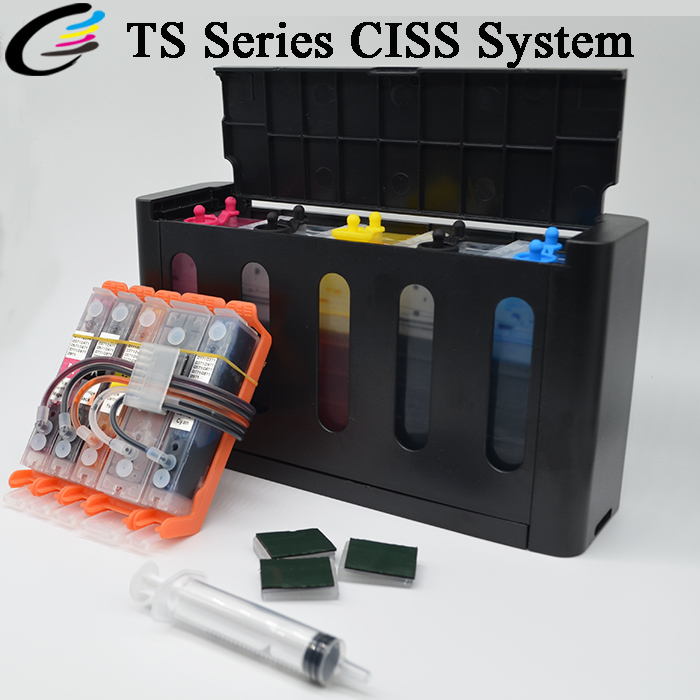 Continuous Ink System CISS for Canon Pixma TS8020 TS9020 Printer