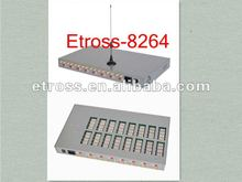 32 bit ARM embedded processor GSM fixed wireless terminal 8 ports 64 sims