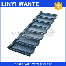 Hot selling in S.Africa colorful stone coated metal roof tile