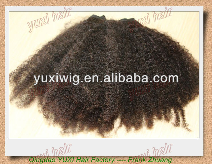 hair factory wholesale cheap price Afro Puff Kinky
