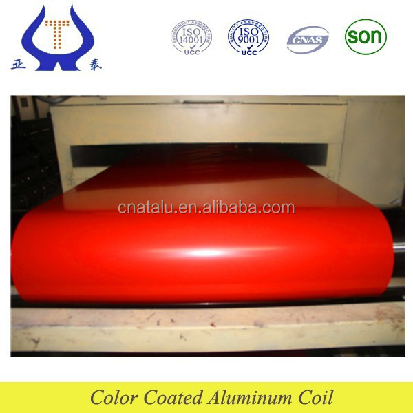 anti-static aluminum color coating material--aluminum coil made from china manufacturer