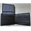 WM1001 China supplier online shopping wholesale black full-grain leather man RFID wallet