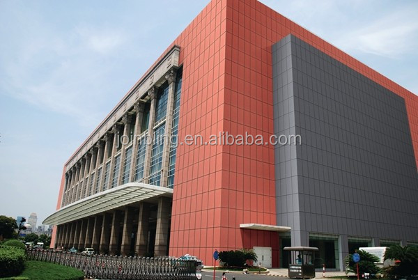 Top quality fiber cement facade of buildings