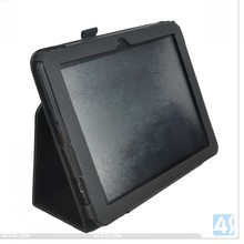 8 inch Tablet Leather Flip Case Cover for HKC S86V with hand strap P-HKCS86VPUCA001