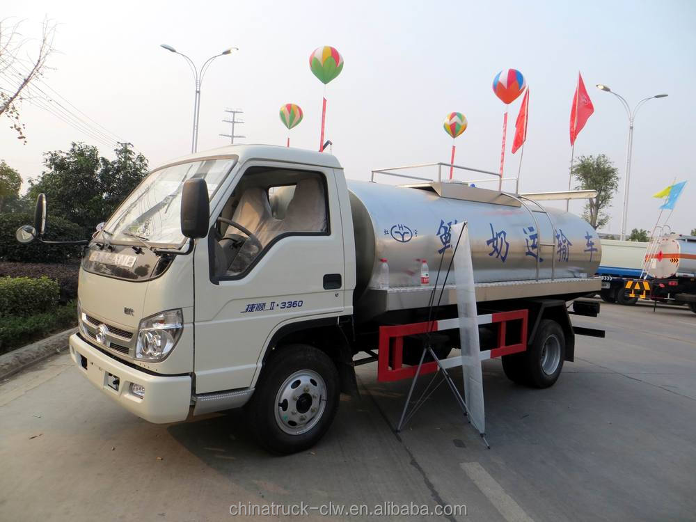 Stainless steel Drinking Water transportation Tank Truck for 5cbm ...