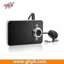 China DVR Manufacturer F20 Night Vision Loop Recording Dual Lens Camera