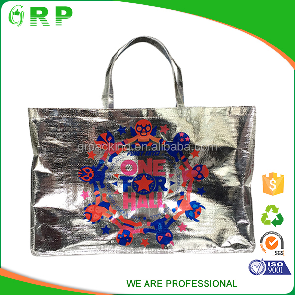 2016 New style custom big capacity reusable folding pet shopping bags