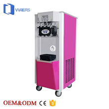 Junjian guangzhou automatic used commercial 3 Flavor soft serve ice cream making machine price for sale