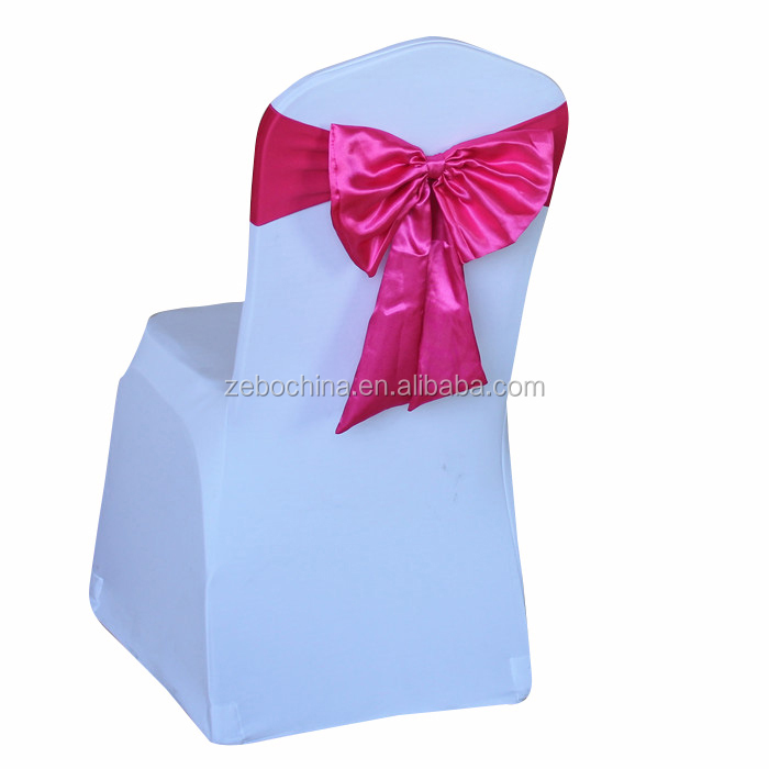 Best selling wholesale cheap spandex chair covers and sashes for