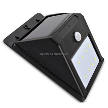 Environment waterproof wireless Solar Motion Sensor 20 LED Light / wall led solar lamp