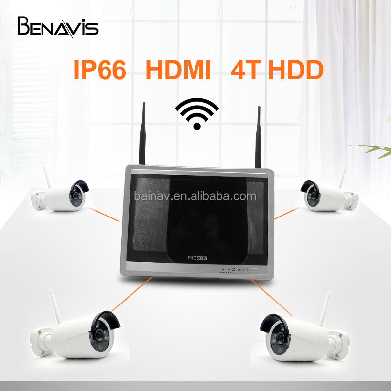 8ch 4ch Best Cameras Rohs Set Hd Kits Wholesale Wifi Ip Home Surveillance Cctv Nvr Kit Wireless Security Camera System Outdoor