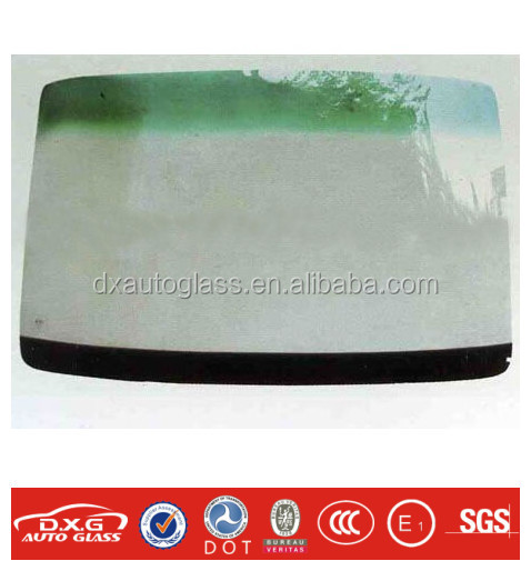 Safety and good quality Laminated front glass Windscreen FOR automobile BUS GLASS