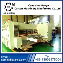 Hot sale automatic corrugated carton printing slotting die-cutting machine