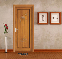 YS823 Factory Directsale Main Door Designs In Teak Wood
