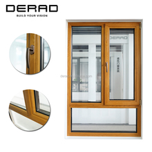 Quality Hot Selling Tilt & Turn Aluminium and Wood Windows with Fly Screen