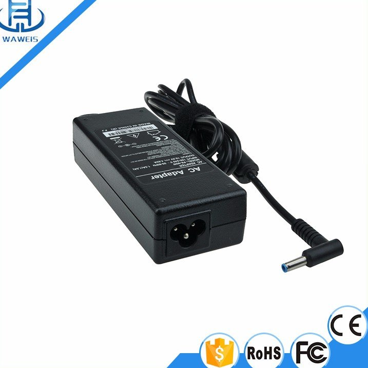 Free Sample Laptop Adapter 19.5V 4.62A Power Supply 90W Power Bank for hp
