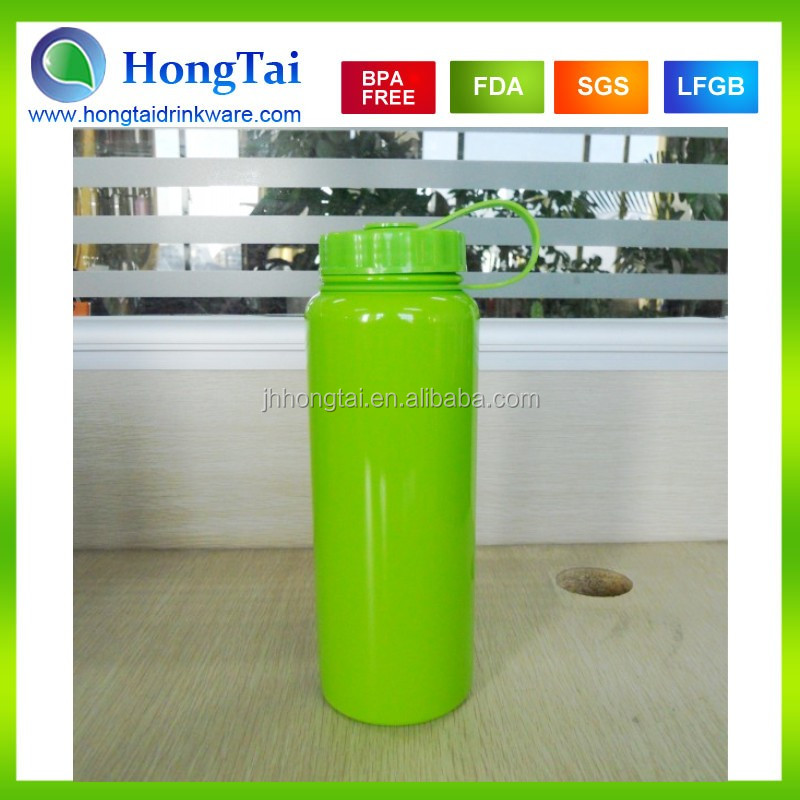 2015 1000ml sport bottle wholesale monster energy drink Water Bottle With Heat Transfer Full Color Printing