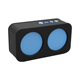 USB mini fm radio portable speaker subwofer music player with wireless mic