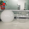 High Quality Cutting Mouth Clear and Opal Shiny Glass Ball Lamp shades