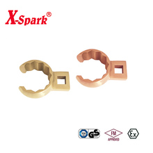 Non Sparking Non Magnetic Beryllium Copper And Aluminium Bronze Hand Tools Crow Foot Box End Wrench