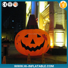 2015 hot selling weird unique giant halloween decoration inflatable pumpkin