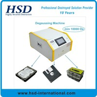 HSD-Super Portable Hard Drive Degausser Light Weight Desktop Use Degausser