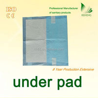 changing urine absorbent baby pad