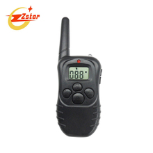 100LV Level 300meter Electronic Shock Vibra LCD Display Remote Control Pet Dog Training Collar 998D For 1 Dog