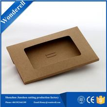 high grade fancy paper cardboard leather wine carrier box