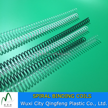 12MM Size 4:1 Pitch Plastic Binding Sprial Clear Binding Combs