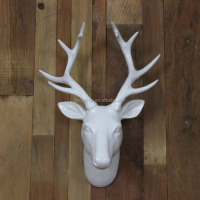 Hot Wall Decorative Resin Deer Head