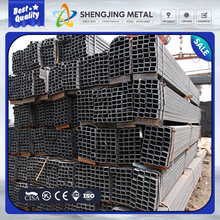 hollow iron pipe/hollow metal tube/hollow rectangular tube