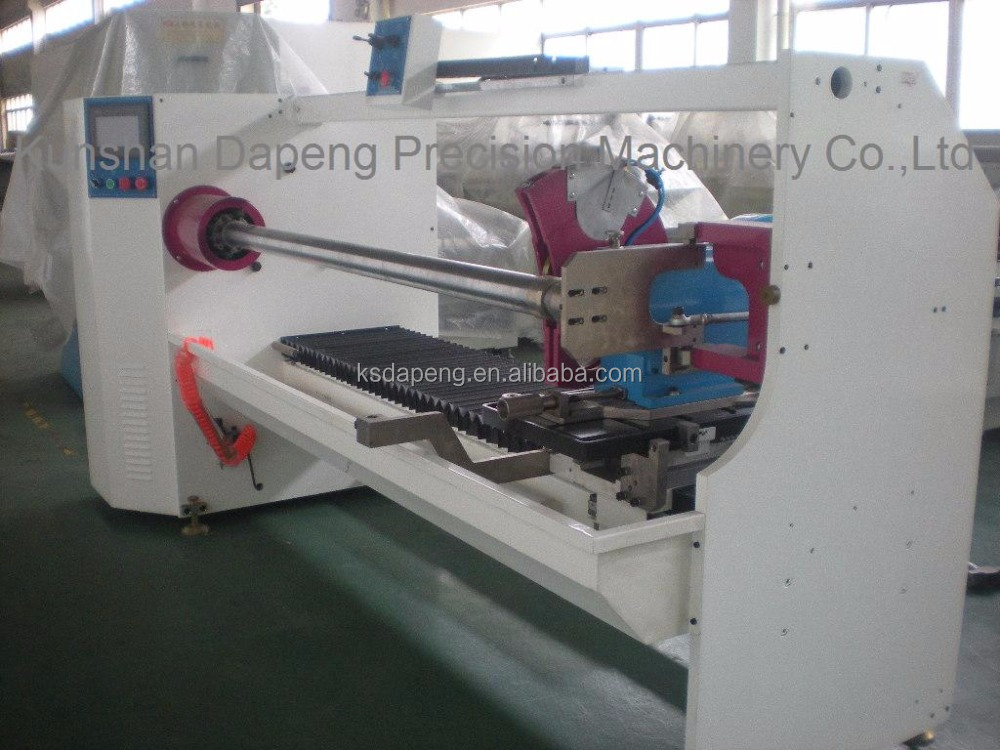 adhesive fabric tape Auto Roll Cutting Machine