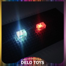 Plastic building blocks accessory OEM light led toys for kids special blocks glowing in dark DE084