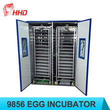 YZITE-26 98% hatching rate full automatic price portable chicken hatching machine /turkey/parrot egg for sale 9856 eggs