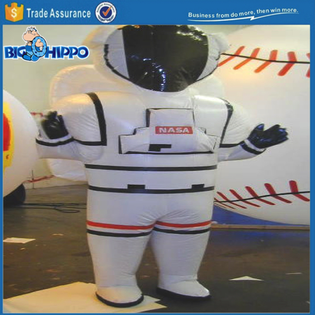 Space suit cosmonaut apollo rocket universe explorer moon traveler high quality custom mascot costume