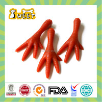 25g/piece Best Deal Wholesale Bulk Gluten Free Dog Treats Chews Chicken Foot Funny Shape Pet Food