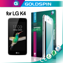 0.3mm 9H Tempered Glass Screen Protector for LG K4 Mobile Phone Accessories Wholesale